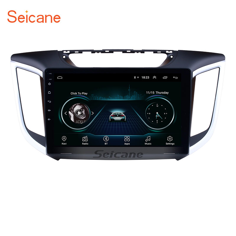Seicane 2 DIN 10 1 Android 8 1 Car Radio GPS Navi Stereo Unit Player for