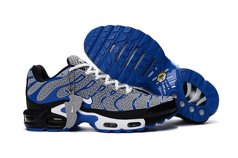 e5540f97e9422f NIKE Men Authentic Classic Air Max plus Tn Air Sole Cushioning Running Shoes