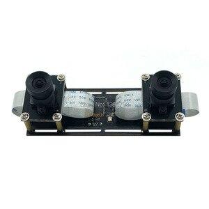 Image 5 - 1080P bez zniekształceń elastyczna synchronizacja Stereo kamera internetowa podwójny obiektyw 30FPS moduł kamery USB do 3D wideo VR wirtualna rzeczywistość