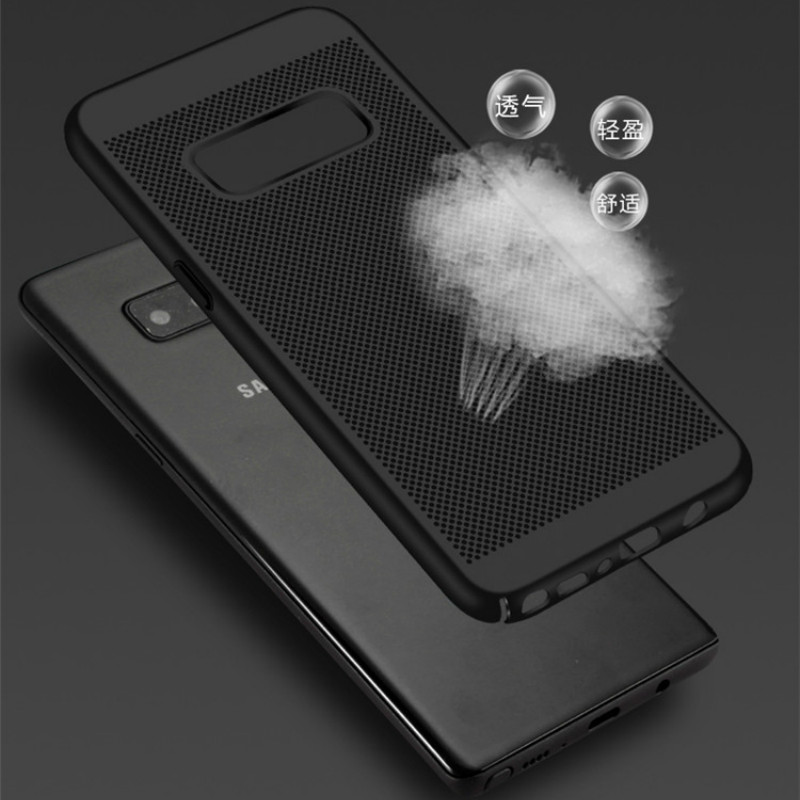 Matte Case For Samsung S4 S5 S6 S7 S8 S9 S10 E J3 J4 J6 J7 J8 A6S A6 A7 A8 A9 2018 Note 9 8 5 4 3 Heat Dissipation Cover