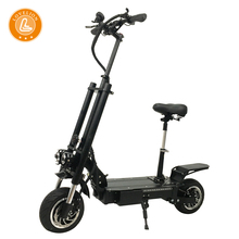 LOVELION New kick electric scooter with seat 60V 3200W Strong Power fat tire fast charge adult electrico patinete e scooters