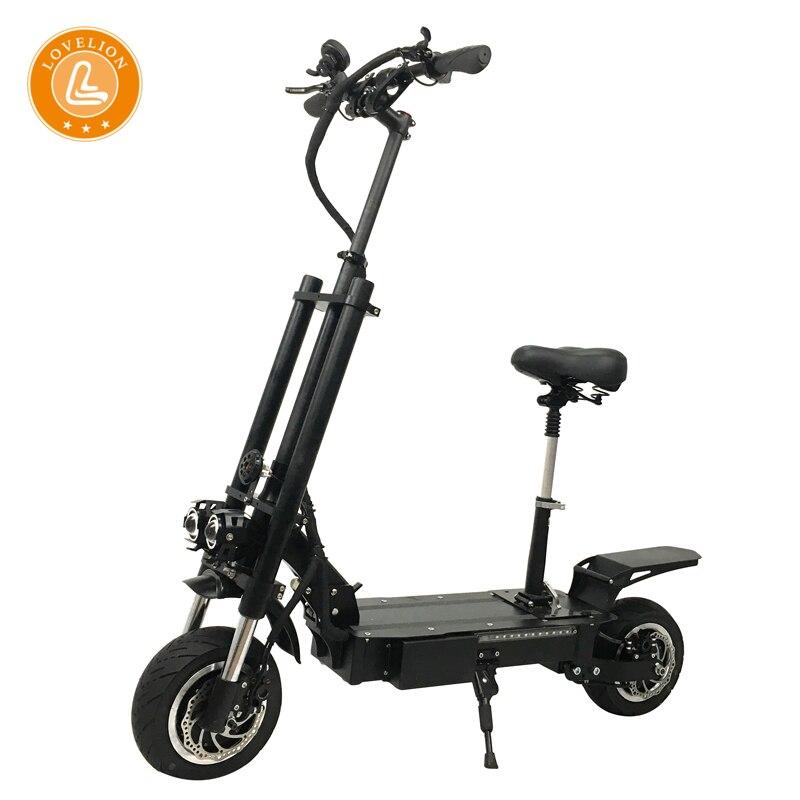 Nouveau scooter électrique LOVELION avec siège 60 V 3200 W forte puissance gros pneu charge rapide adulte scooter électrique patinete e