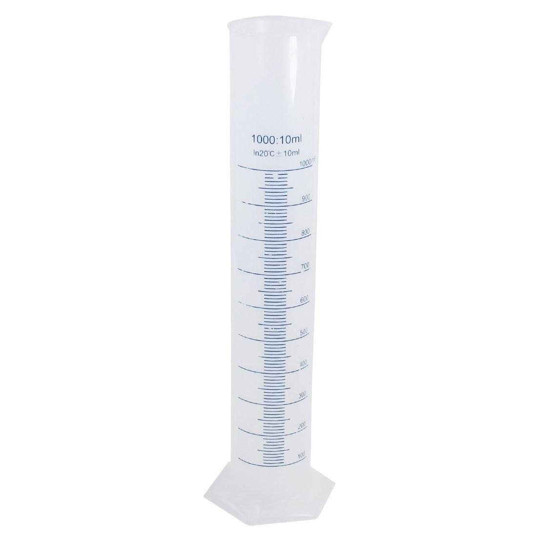 High 41 Centimeter 1000 Milliliter Meter Plastic Measuring Cylinder