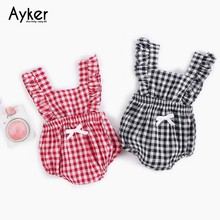 Baby Bodysuit Summer Girl Clothes Sleeveless Newborn Costum Clothing One Piece Jumpsuit Cotton Twins Baby Clothes Kid Outfits