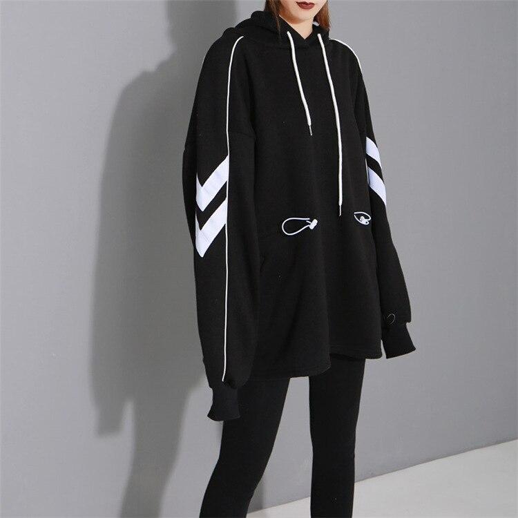 Femme printemps mode Feminino à manches longues sweat à capuche hauts décontractés vestes à capuche femmes pull survêtements