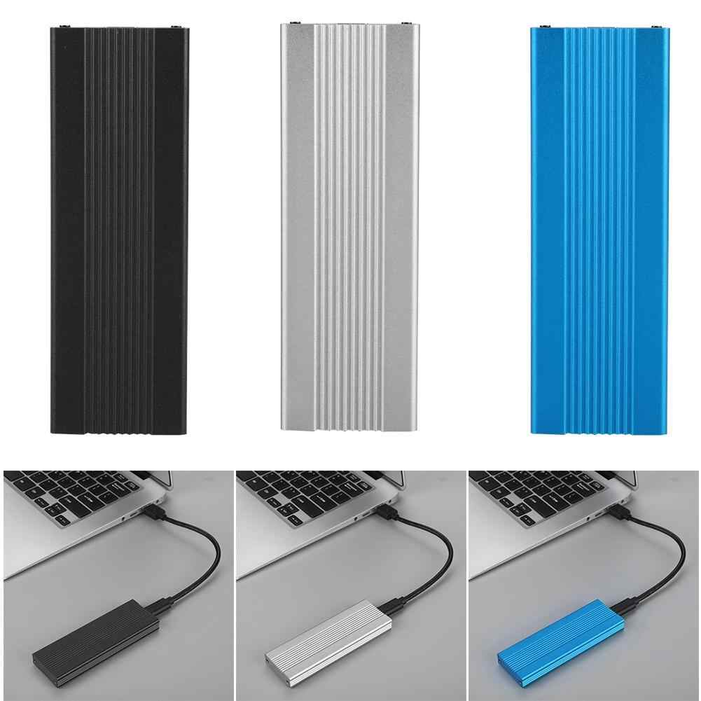 Alta calidad USB3.1 a M2 NVME caja de disco duro SSD carcasa NGFF PCIE A Adaptador tipo C M2 ASM2362 HDD