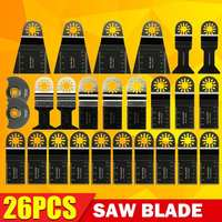 New 26pcs Saw Blade Accessories Doersupp Mixed Blades Multitool For Fein Multimaster Makita