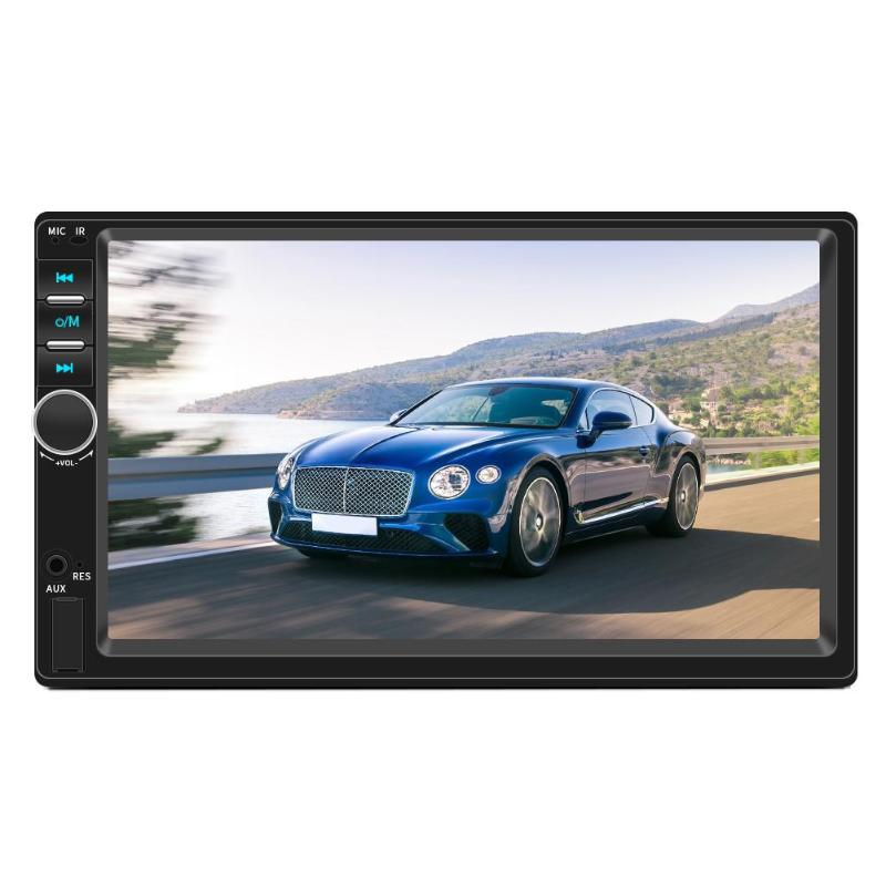 "VODOOL 7018 7"" Touch Screen Android 8.1 Car Radio 2 Din Stereo MP5 Player Auto Audio GPS Navigation FM WiFi BT Multimedia Player"