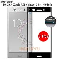 2 Pcs Per Sony Xperia XZ1 Compatto G8441 4.6
