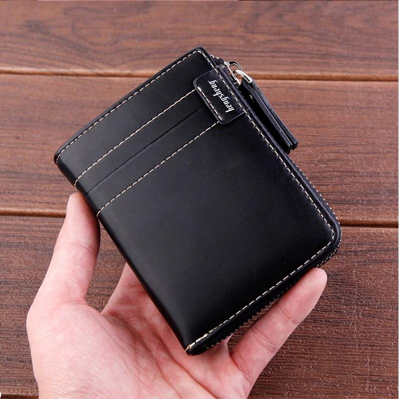 2019 New With Coin Bag Zipper Mini Wallets Famous Brand Men Women Card Holder Clutch Wallet Coin Purses Wallet Carteira Feminina