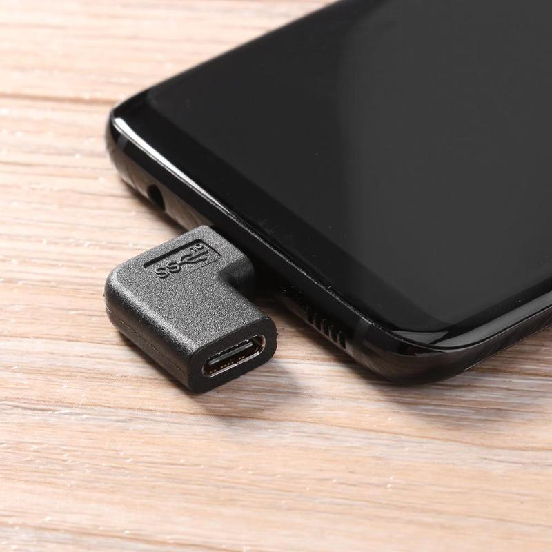 Back To Search Resultscomputer & Office 90 Degree Right Angle Usb 3.1 Type C Male To Female Usb-c Converter Adapter Dropship 100% Original