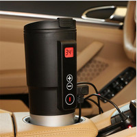 DC 12V Electric Heating Cup Car Cigarette Lighter Power Supply For Adult Children Drinking Water Coffee Etc