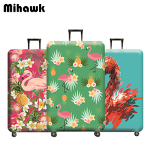 Mihawk Flamingo Travel Suitcase Protective Cover Traveling A