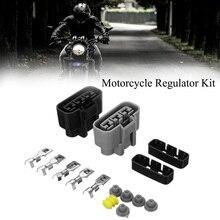 Универсальный регулятор напряжения коннектор выпрямителя комплект для Honda TRX BMW Kawasaki Yamaha аксессуары для мотоциклов