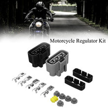 Universele Voltage Regulator Gelijkrichter Connector Kit Voor Honda Trx Bmw Kawasaki Yamaha Motor Accessoires(China)
