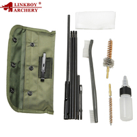 10PCS AR15 M16 M4 Gun Reinigung Kit Airsoft Pistole Cleanner für 5,56mm. 223 22LR. 22 Cal Tactical Gewehr Pistole Pinsel Set
