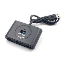 Répartiteur Usb 3.0 un pour quatre conversion ordinateur portable haute vitesse moyeu dextension multi interface