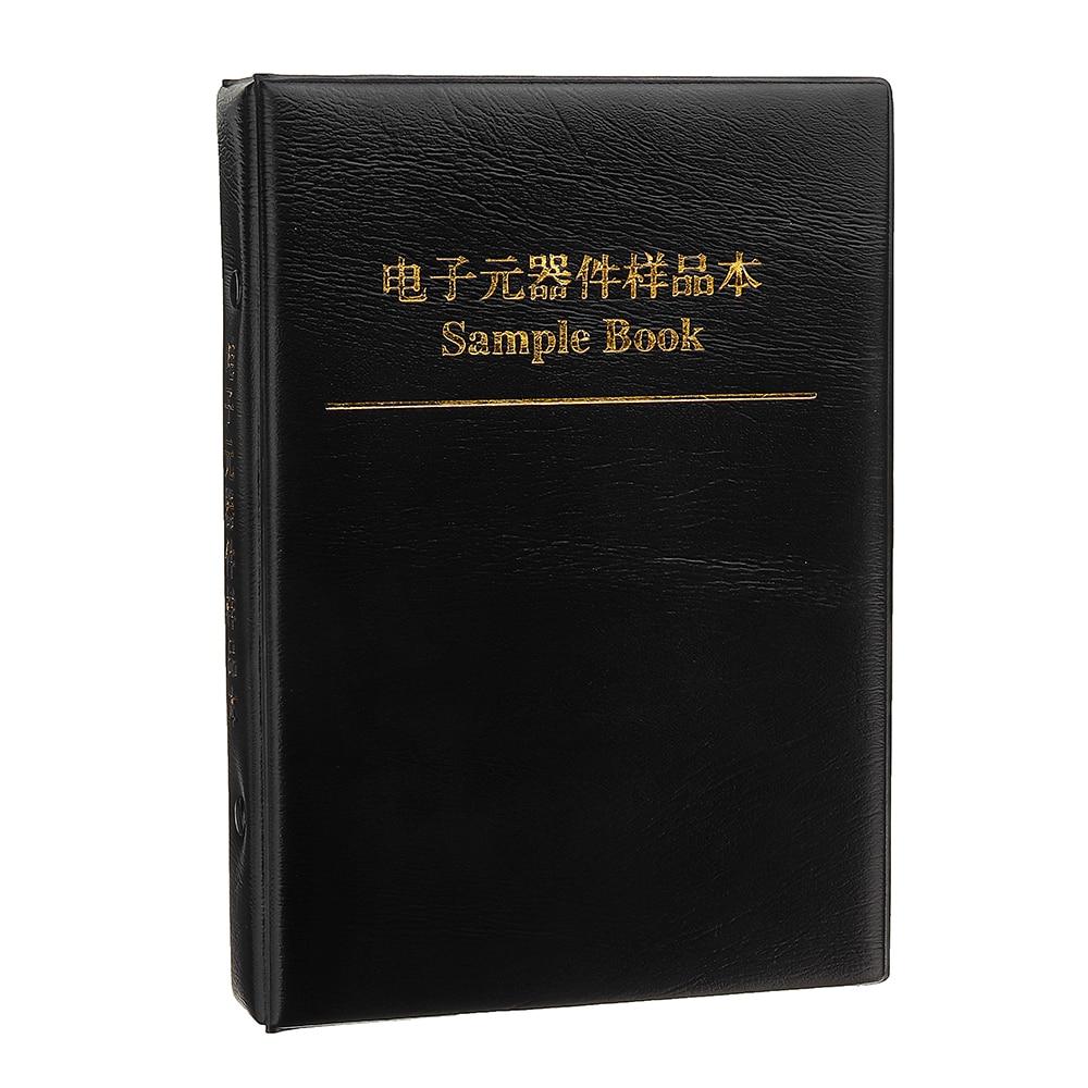 4250 stücke/Lot 1206 SMD Chip Probe Buch Widerstände 0-10 M 1% Toleranz 170 Werte 25 stücke sortiment Kit Probe Buch