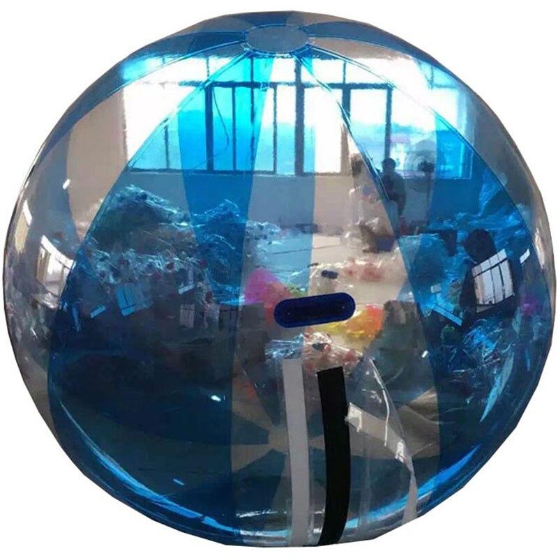 2M blau Wasser zu fuß Ball, Aufblasbare Wasser auf Ball, klar Spaziergang auf Wasser Luftballons Zorbing Huma festival tanzen bälle für zeigen - 6
