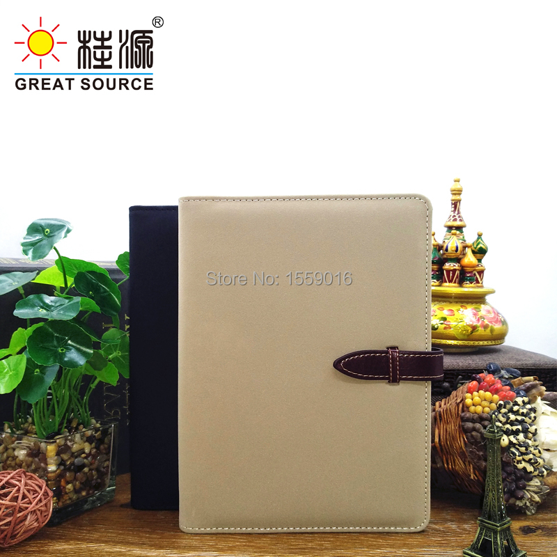 Great Source A5 Matte Leather Ring Binder Folder 6 Rings
