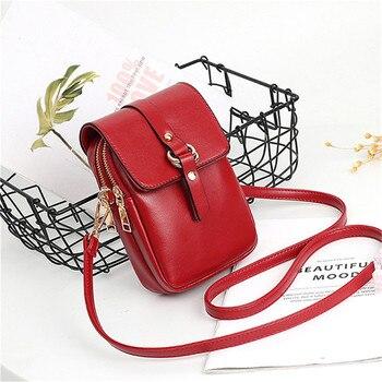 ac73e0c0be53 2019 Мини Маленькая женская сумка через плечо из лоскутов из искусственной  кожи, сумки для телефона, дамская сумочка, сумка на плечо, сумка-мес.