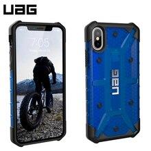 Защитный чехол UAG Plasma для iPhone X Cobalt (Blue Transparent)