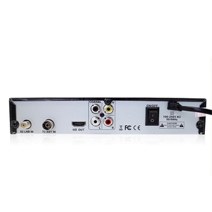 Image 4 - Euプラグ地上デジタル衛星テレビ受信機のdvb T2 S2コンボDvb T2 Dvb S2 tvボックス1080 1080pビデオhdmi出力ロシアヨーロッパ