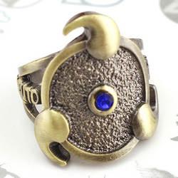 Кольцо Наруто Аниме кольца для Для мужчин wo Для мужчин Детские аксессуары к костюму для Косплей кольцо унисекс бронзовый цвет кольцо