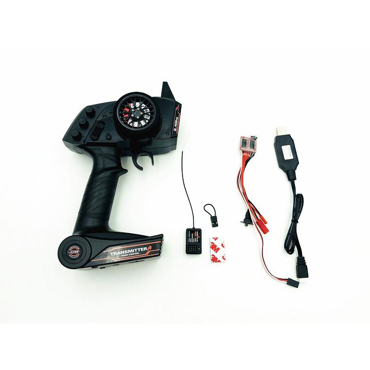 2 4G AX5S Remote Control ESC USB Charging GT2 Receiver Electronic Equipment Upgrade Set for WPL
