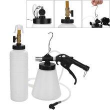 1L Air Brake Bleeder Kit Pneumatic Brake Clutch 90 120 PSI Vacuum Hydraulic Fluid Fill Bottle Set Car Accessories
