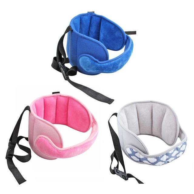 Asiento Infantil cabeza apoya fija ajustable de la cabeza del bebé fija almohada chico cuello protección de seguridad de coche Parque reposacabezas