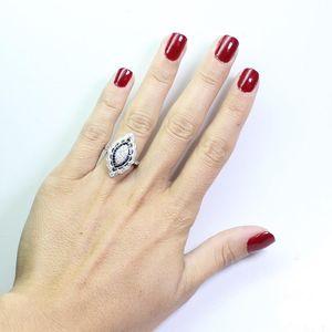 Topaz Sapphire 14K Gold Diamond Ring Engagement Peridot Gemstone Anillos De Bizuteria Ring for Women Garnet Bague 925 Jewelry(China)