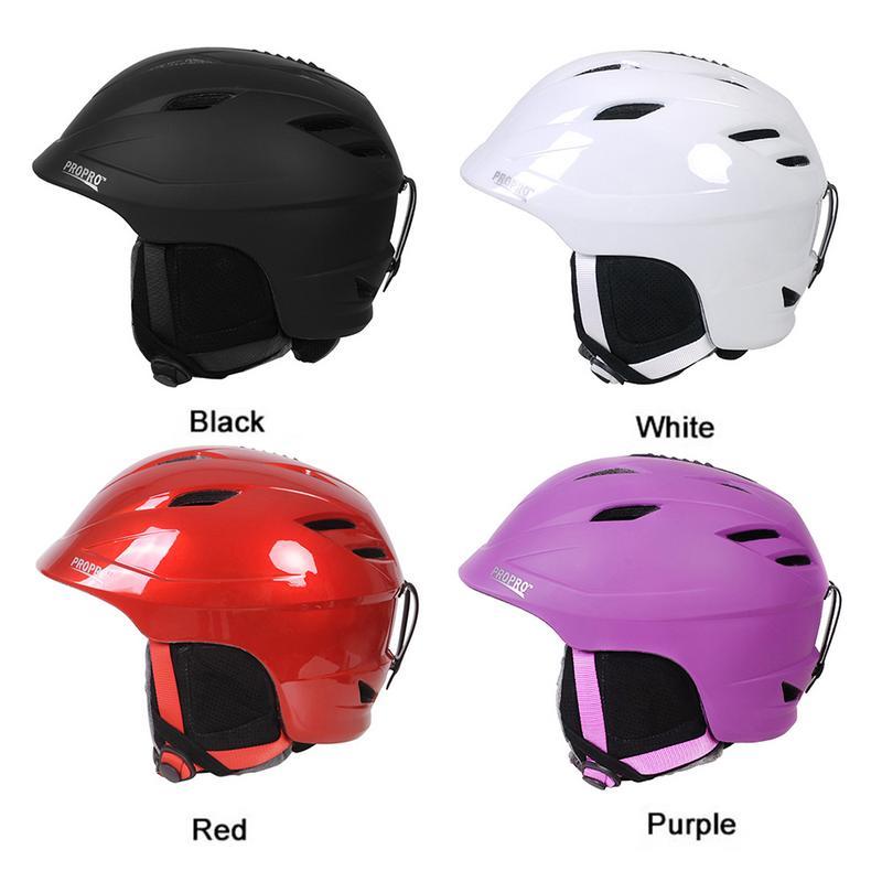 PROPRO casque de Ski intégré planche simple Double planche casque de sport de plein air casque neige casquette