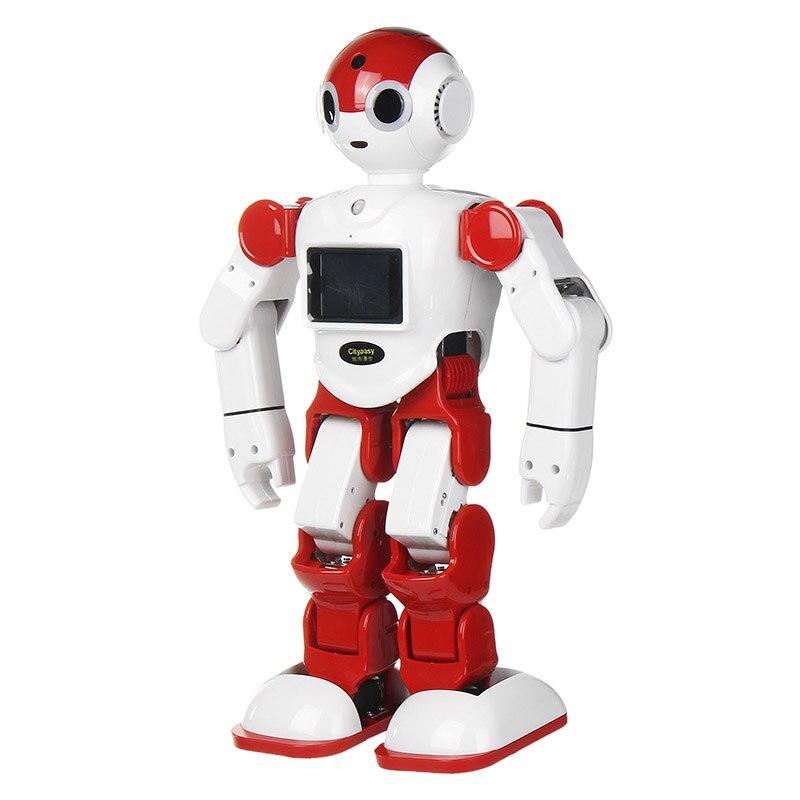 LEORY contrôle vocal Robot Intelligent Robot humanoïde Programmation APP Contrôle de Sécurité Enfant L'éducation Pour Kits Présent Cadeau