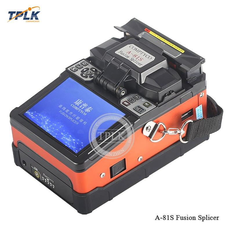 Лучшая цена A-81S полностью автоматическая оптоволоконной orange и зеленый FTTH волоконно-оптические сварочные Сращивание машина высокого качества