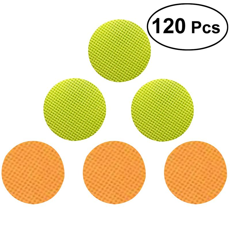 WINOMO 120PCS Kids Repellent Stickers Portable Portable Summer Anti-mosquito Bracelets Bug Repellent Patches Stickers