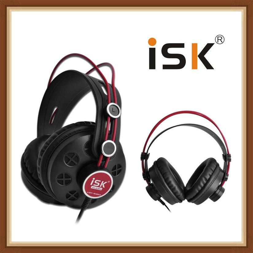 ISK HP-580 HP580 casque Semi-ouvert dynamique stéréo surveillance écouteur DJ casque suppression de bruit casque Auriculares