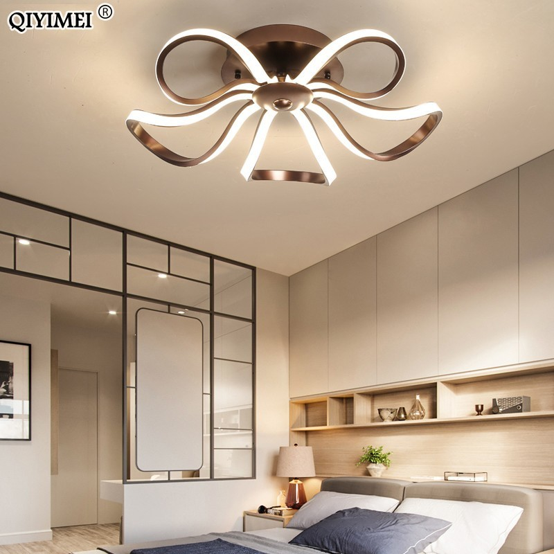 New LED Chandeliers For Living Room bedroom Dining room Chandelier surfaced mount or height adjustable Dimming