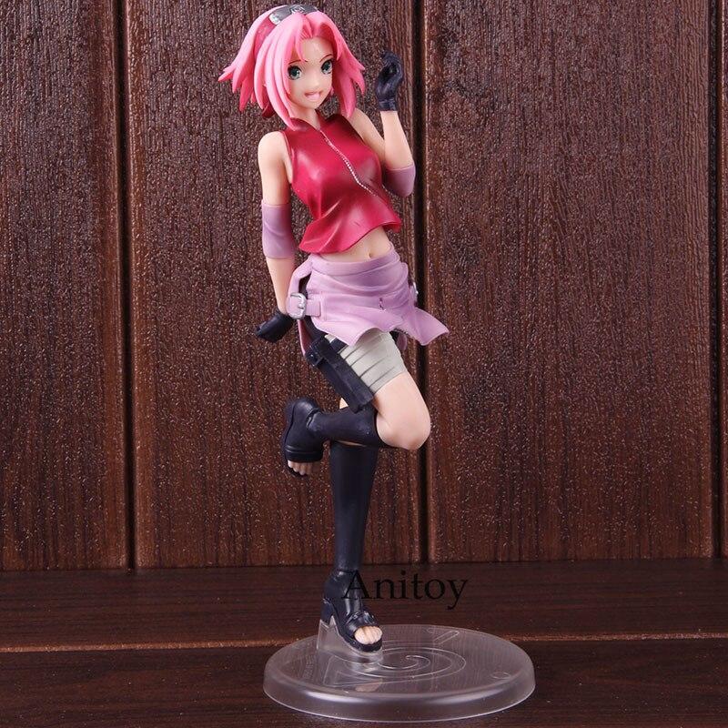 Anime Figurine Naruto Shippuden Sakura Haruno Figure Naruto Shippuden Action Figure PVC Collecible Model Toy