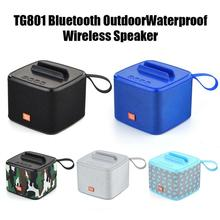 TG801 5 Colors Portable Bluetooth Speaker Wireless Loudspeaker Sound System Stereo Music Surround Outdoor