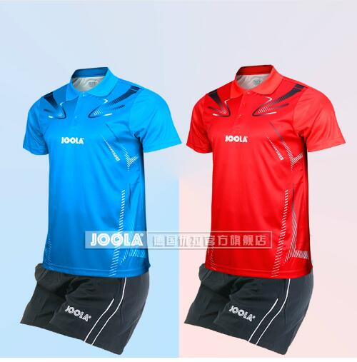 JOOLA Table Tennis Suit Men's And Women's Team Uniform Table Tennis Sportswear Short Sleeved Breathable Match Suit T Shirts