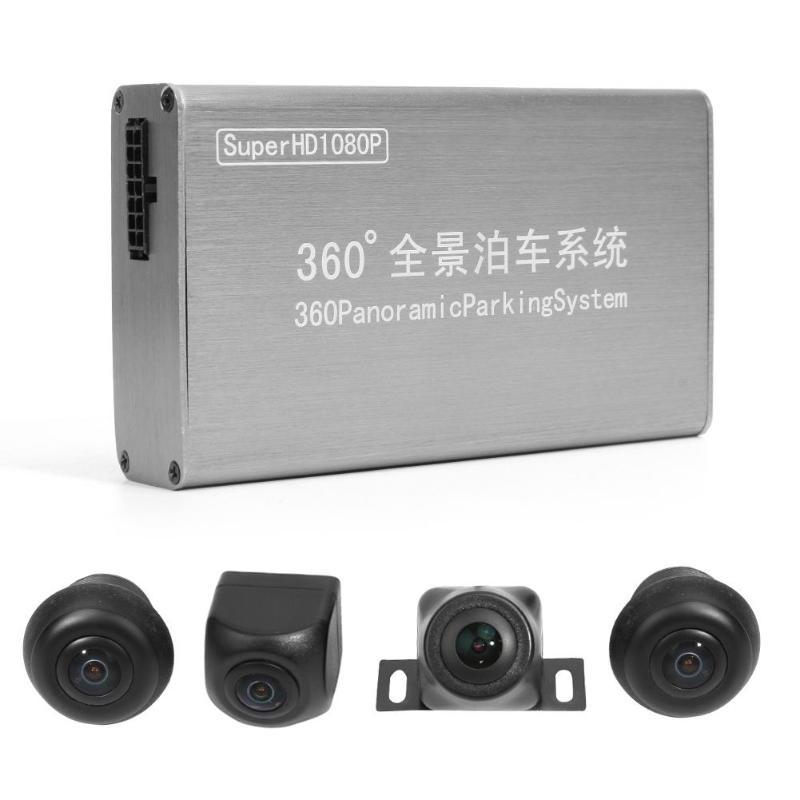 VODOOL Universal 4 Cameras 1080P 360 Degree Night Vision Car DVR Recorder Rear View DVR Bird