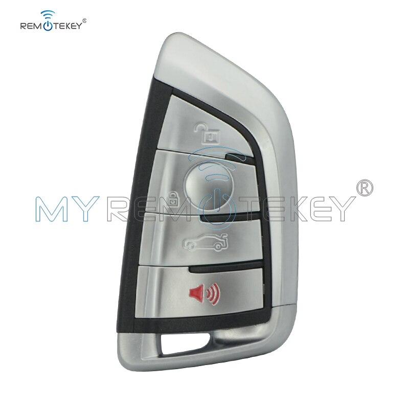 Remtekey N5F-ID2A pour BMW 1 2 3 4 5 6 7 Série X3 X4 X5 X6 3248A-ID2A 4 Boutons Clé De Voiture Intelligente À Distance 315 MHZ avec Insert clé intelligente