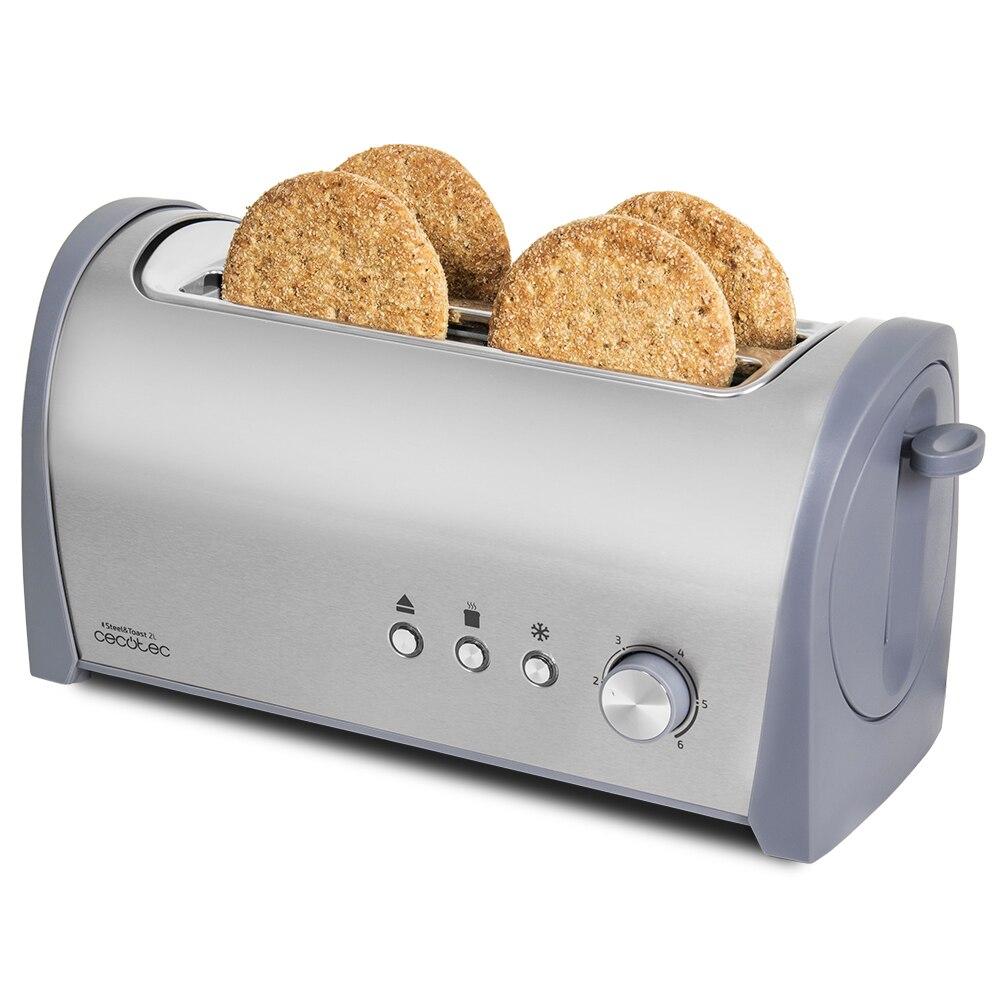 Cecotec Toaster Steel & Toast 2L
