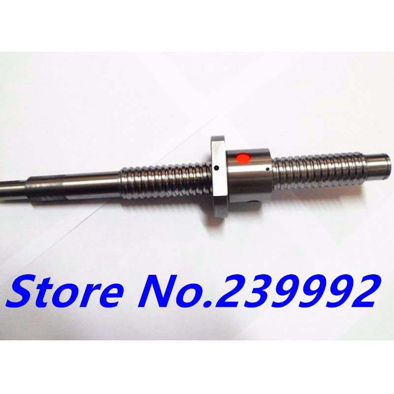 SFU1605 1350mm Ball Screw Rolled ballscrew 1 pc SFU1605 L 1350mm with 1605 Flange single ball