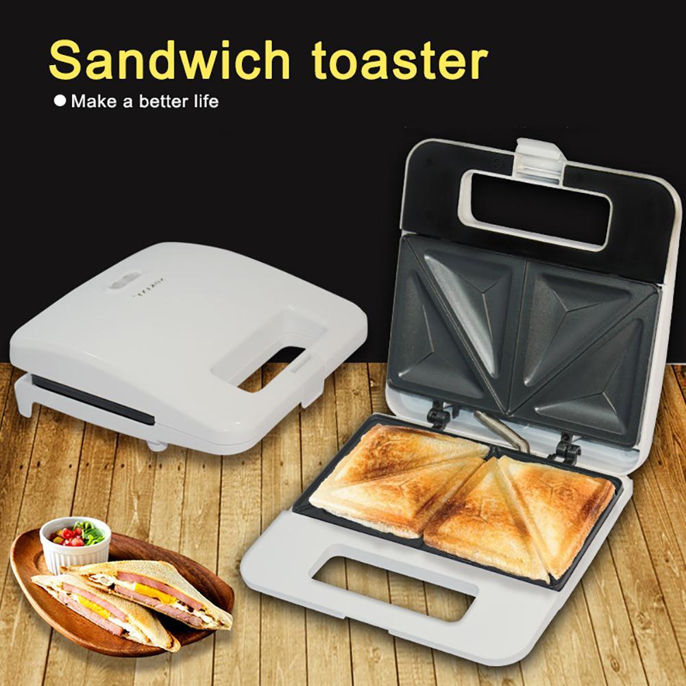 Electric Sandwich Waffle Maker Toaster Breakfast Machine Kitchen Bread Oven