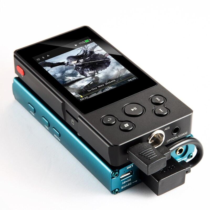Xduoo X10t Ii Bluetooth Hifi Digitale Plattenspieler Hd Lossless Musik Player Mp3 Dsd256 Pcm 384hkz/32bit Optocal/koaxial /usb Ausgang Hifi-player Hifi-geräte
