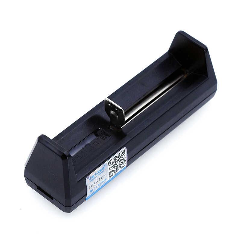 Varicore V1 شاحن بطاريات ذكي المحمولة صغيرة ل 26650 21700 18650 26650 18500 16340 14500 18350 3.7V بطاريات ليثيوم