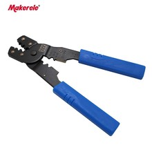 Power cable crimping tool HM-202B  24-14AWG 0.08-2.5mm2 power cable crimping tool for non-insulated terminal crimper