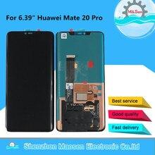 """6.39 """"originale M & Sen Per Huawei Compagno di 20 Pro AMOLED Display LCD Screen + Touch Panel Digitizer No di impronte digitali Per Il Compagno di 20 Pro LCD"""